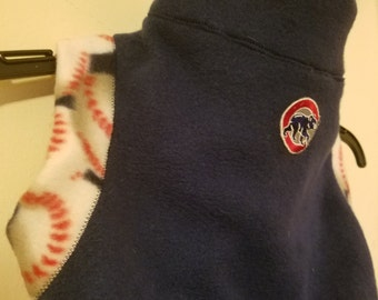 Dog Sports Team Sweater, Fleece Pet Sports Sweater, Cozy Dog Team Sweater