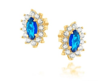 Special earrings ,gold fielld 14 k jewelry 3 mikro  with great care.opal aaa stone Amazing earrings for every occasion