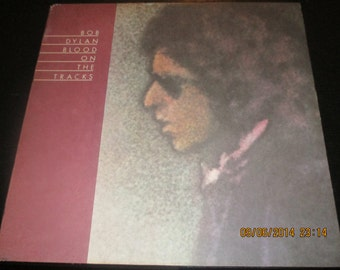 Bob Dylan NM vinyl -  Blood on the Tracks - Original Edition - Lp in NM  Condition.