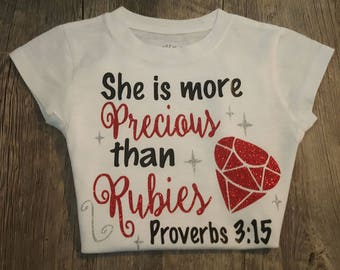 Preemie, Newborn, Toddler... She is More Precious, Bodysuit, Onesie or T-Shirt