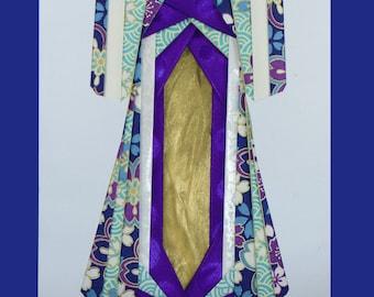 Iris folded kimonos