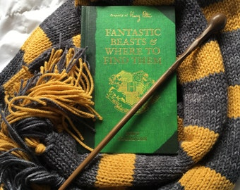 Fantastic Beasts Inspired Wizard Scarf