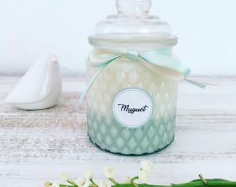 LILY of the VALLEY - Natural Scented Candle - 250g