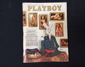 Playboy Magazine January 1975