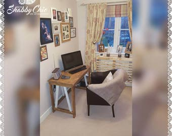 Handmade solid wooden office desk - Made to order
