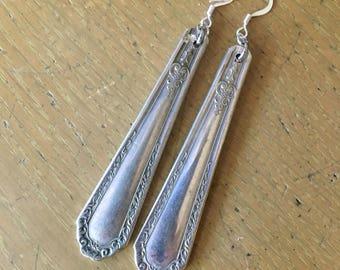 Vintage Silver plate earrings