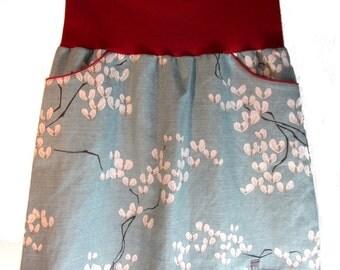 Flower skirt for women size 38 * unique *.