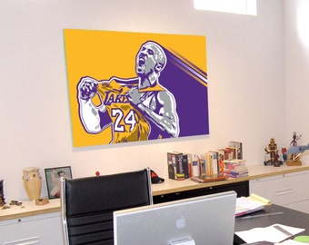 Kobe Bryant - Los Angeles Lakers - Art Print
