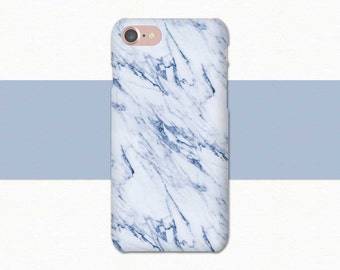 Blue Marble Phone Case, Blue iPhone Case, Marble iPhone 7 Case, iPhone 6 Case Marble, iPhone SE Case Blue Marble, iPhone 6S Plus, Light Blue