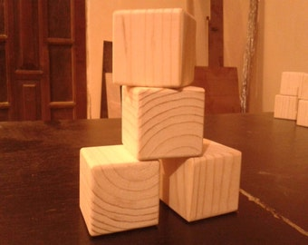 Toys wooden blocks set of 4 pieces. Baby wooden blocks,wooden blanks, wooden blocks, wooden blocks for painting ECO wood