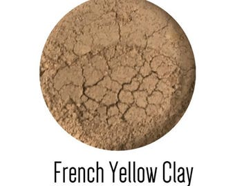 French yellow clay mask for dry and sensitive skin