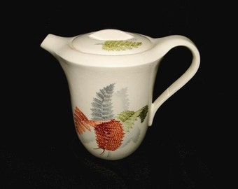 Horizon by Steubenville Fern Leaf Coffee Pot with Lid