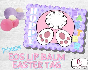 EOS Easter Bunny Tail Printable Tag