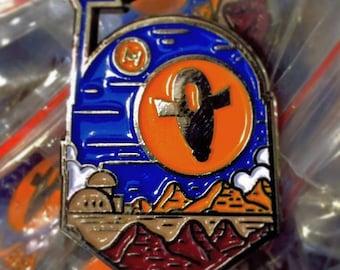 Desert Slave Enamel Pin