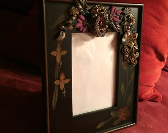 Jeweled & Rhinestone Picture Frame