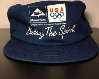 Vintage Olympics Cap