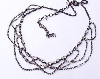Womans belt,Crystal belt,Evening belt, Metal belt,Chain belt
