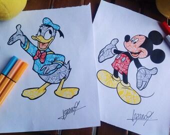 Dibujos de Disney Por Encargo