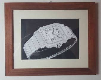 83 Cartier Sanctos original work