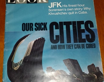 Look magazine september 21 1965 Our Sick Cities and how they can be cured. I had purchased a historical home and found this one and more.