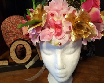 Spring Equinox Floral crown