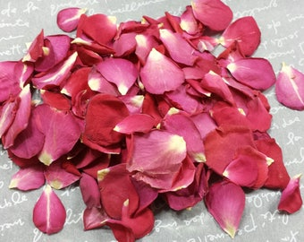SAMPLE: 100% Real Freeze Dried Rose Petals (1 Cup)
