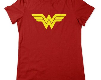 Wonder Woman Shirt DC Comics Available In Ladies and Unisex Adult and Youth Sizes