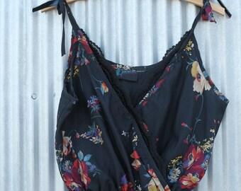 Vintage / Floral Jumpsuit