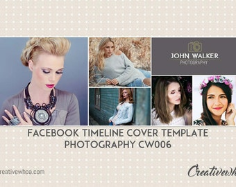 Facebook Timeline Cover Template Photography CW006