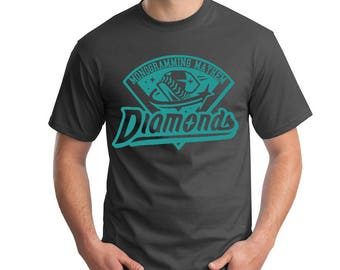 Diamonds Baseball Fan Tee