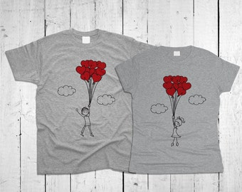 Love People Couple T-shirts
