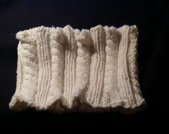 Mock Cable Cowl/Infinity Scarf
