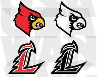 University of Louisville Cardinals svg, Louisville Cardinals png, Louisville Cardinals ncaa basketball dxf, logo vector instant download