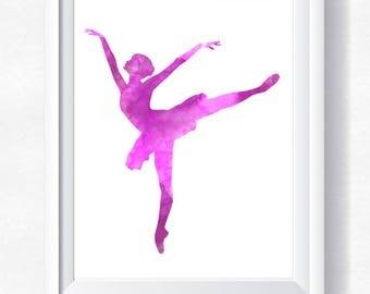 Ballet Wall Art ballet wall art | etsy