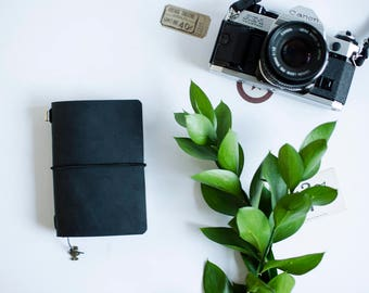 Traveler completo Notebook Passport size Black