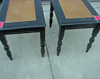 Pair painted End Tables