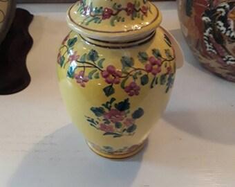 Vintage Portugal Ginger Jar