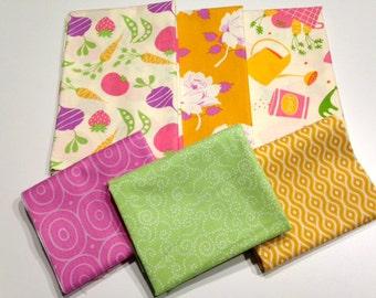 The Veggie Patch Half Yard Fabric Bundle