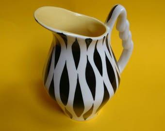 Snazzy Kelsboro zebra print jug