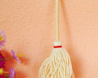 Miniature Dolls House Household Mop