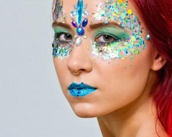Sea Queens Chunky Cosmetic Festival Glitter