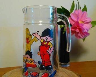 Like new VINTAGE HARIBO jug decanter