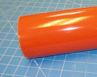 "Orange Oracal 651 12"" x 5' (5 feet) Roll * Sign Vinyl * Decal Vinyl"