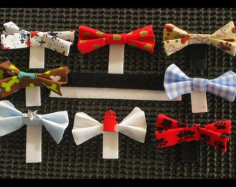 8 Male Dog Bow Ties