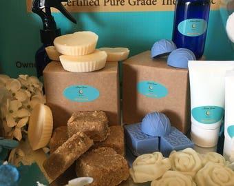 Brown Sugar Soap Scrubbies