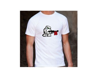Star Wars Stormtrooper PEW! PEW! White T-Shirt