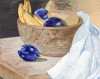 Still Life - Bowl of Fruit