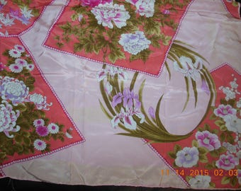 Emanuel Ungaro 100% silk multi color 55' scarf