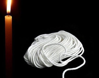 33 Ft. Cotton Fiber Core Candle Wick