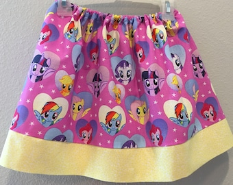 My Little Pony pink skirt for toddler and girls